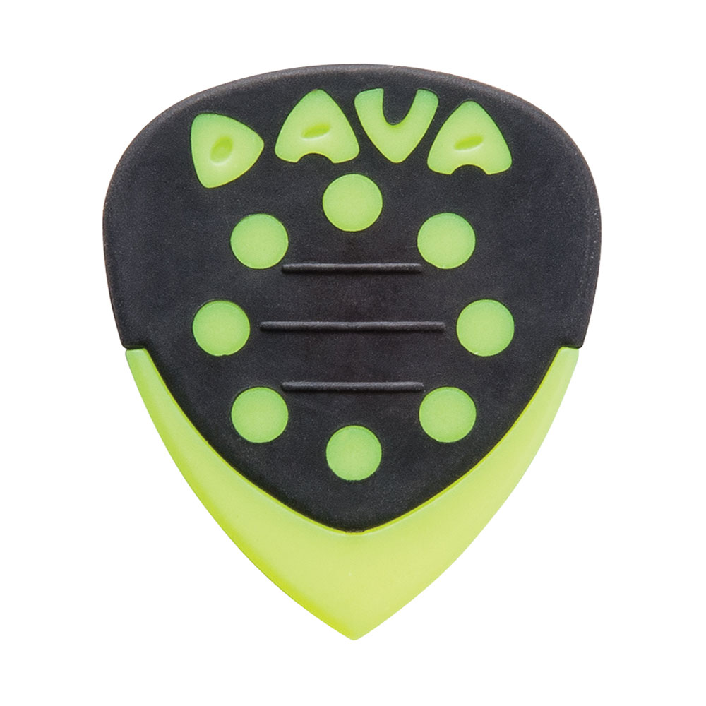Dava Grip Tips Nylon Picks/Plectrums (Pack of 6)