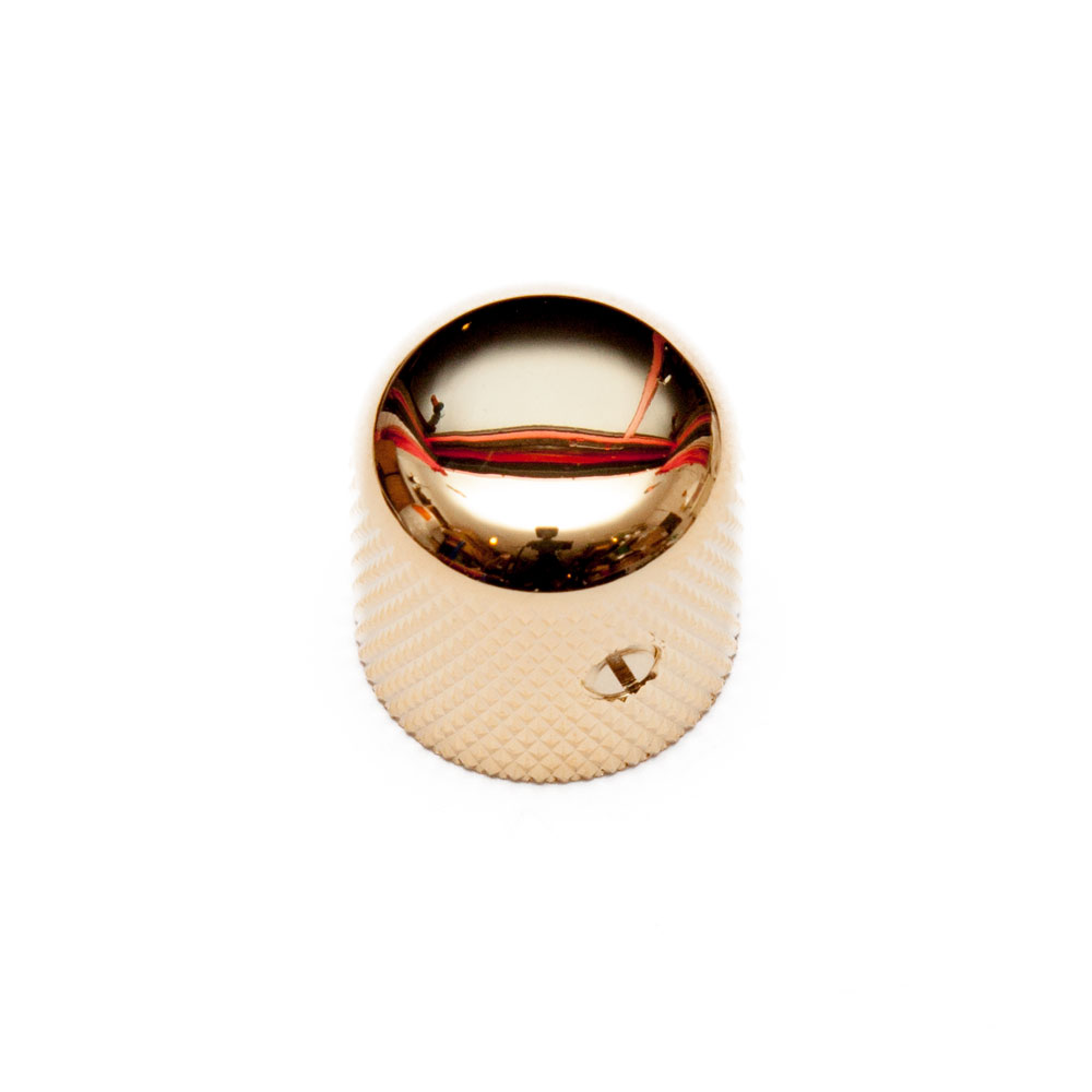 Gotoh VK1-18 Metric Dome Knob with Set Screw (Gold)