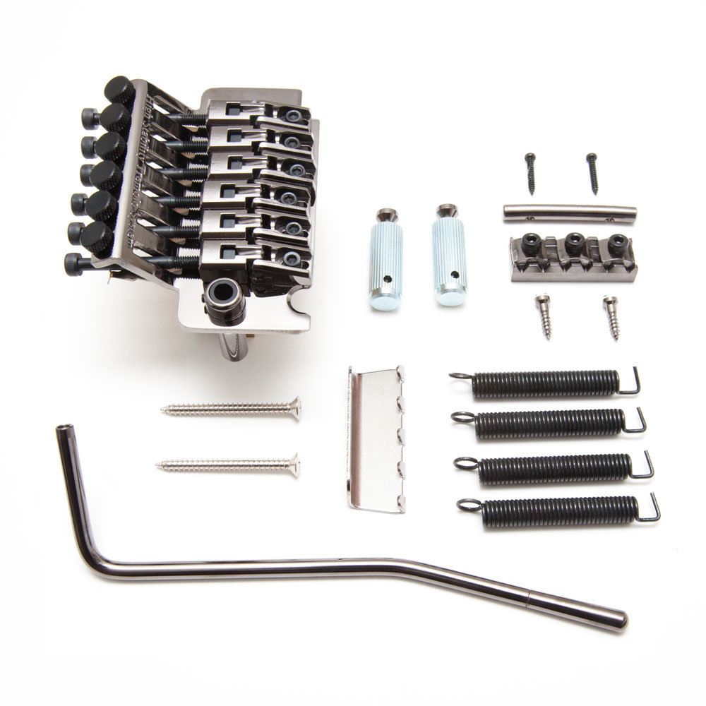 Gotoh GE1996T Double Locking Tremolo with GHL-2 Nut (40 mm, Cosmo Black)