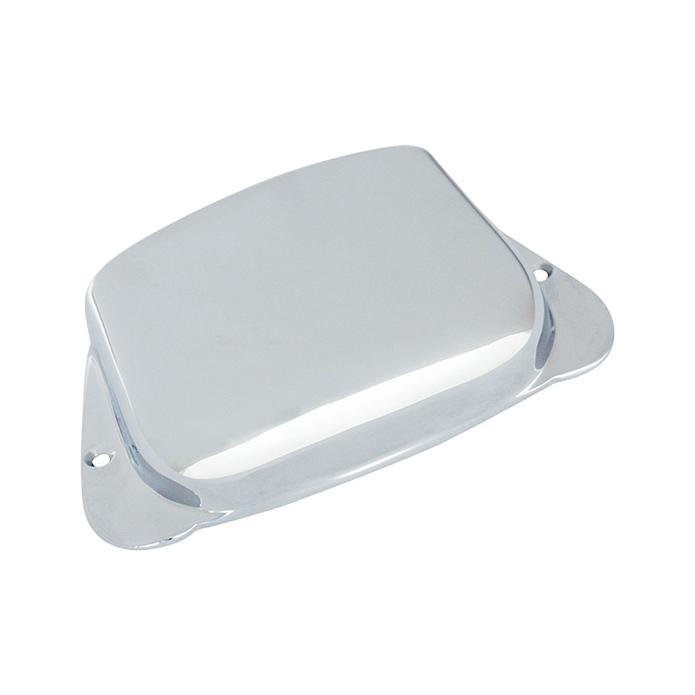 Hosco P Bass Style Bridge Cover (Chrome)