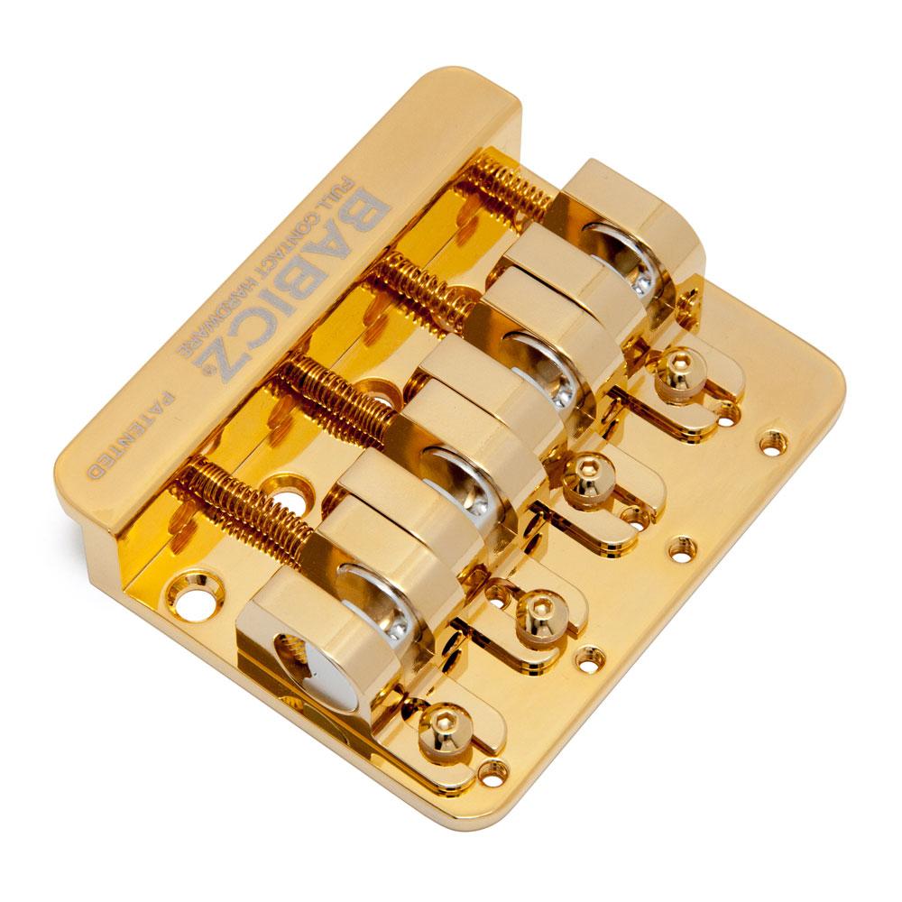 Babicz FCH-4 Original Series Top Load Bass Bridge (Gold)