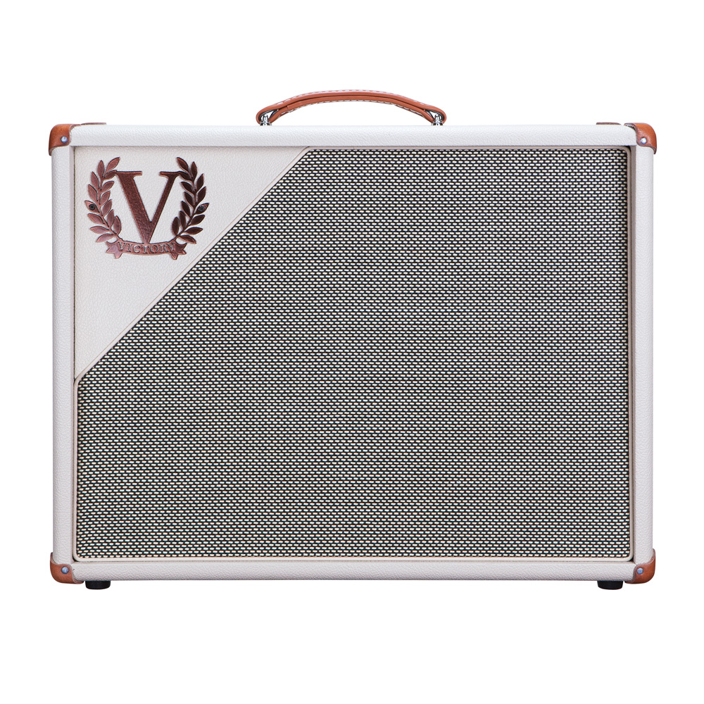 Victory Amplification V112-WC-75 1x12 Creamback Widebody Cab