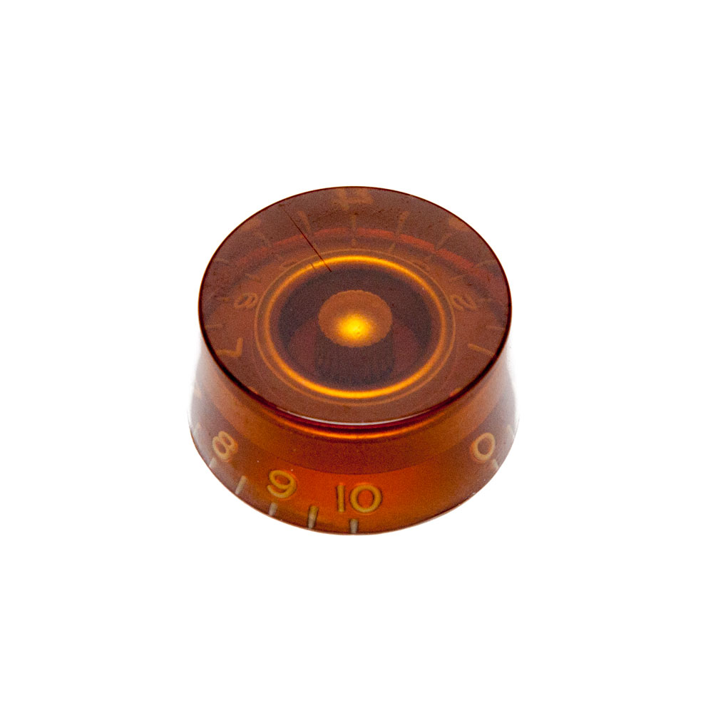 Hosco Speed Control Knob Gibson Style (Amber, Metric (mm))