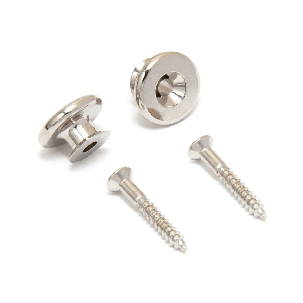 Gotoh EP-B3 Large / Oversized Strap Buttons Set of 2 (Nickel)
