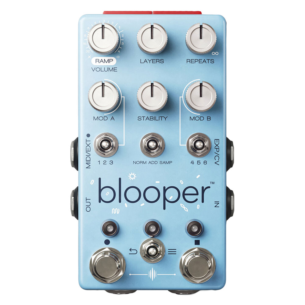 Chase Bliss Audio Blooper Looper Pedal