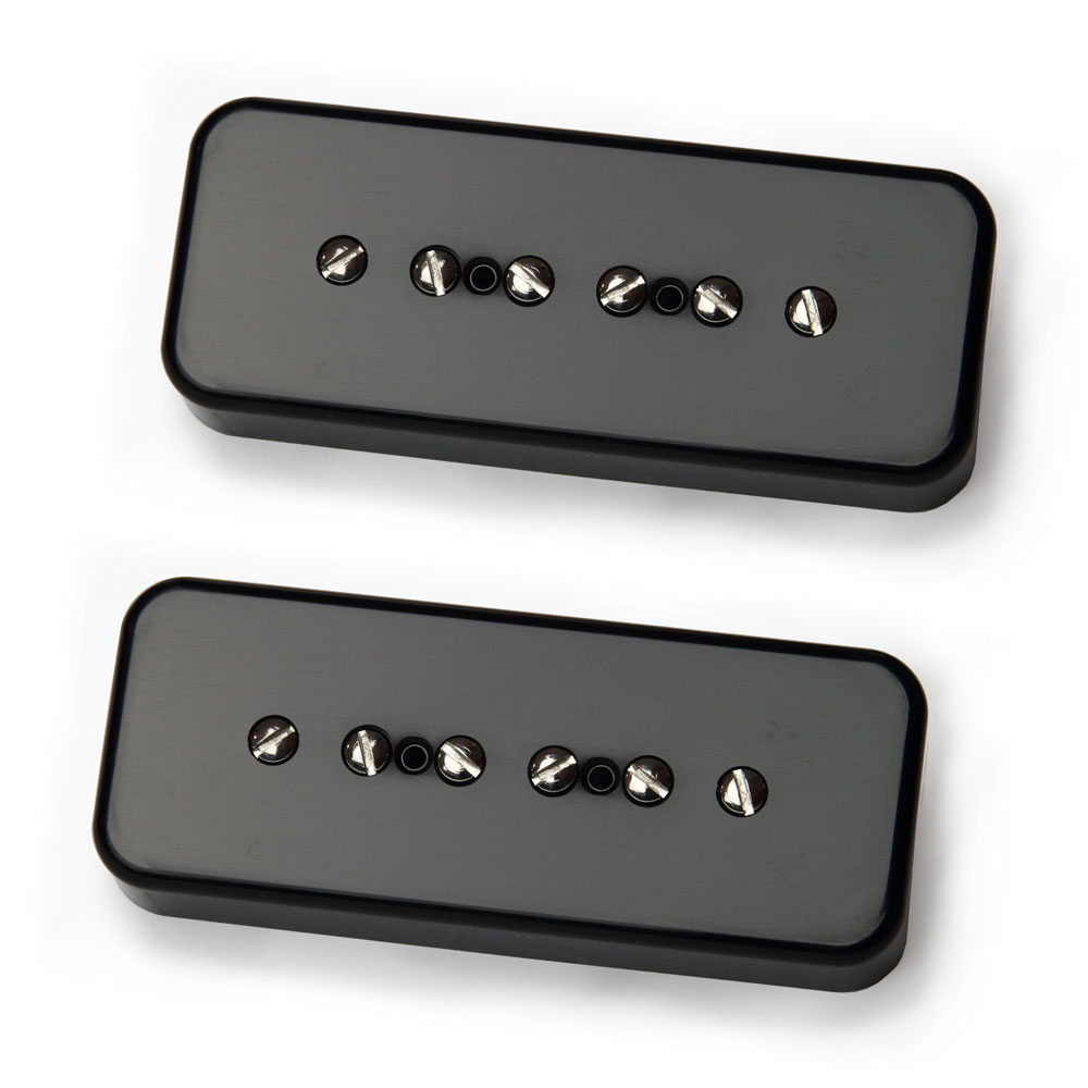 Bare Knuckle Pickups Boot Camp Brute Force P90 Set (Black)