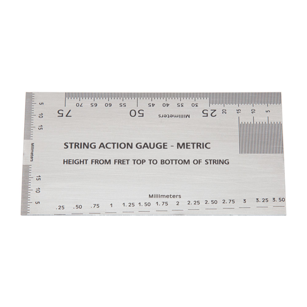 Elmer Guitar String Action and Measurement Gauge (Metric (mm))