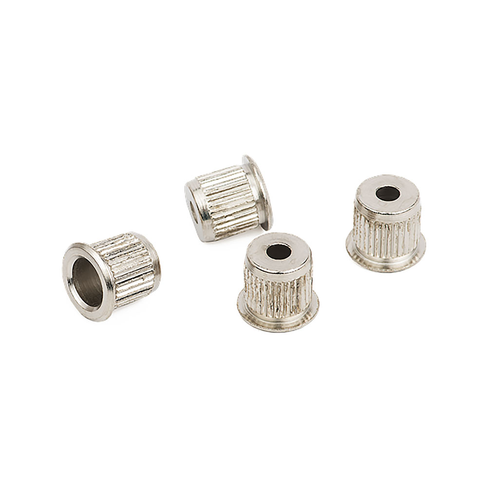 Fender American Standard Bass String Ferrules Set of 4 (Nickel)
