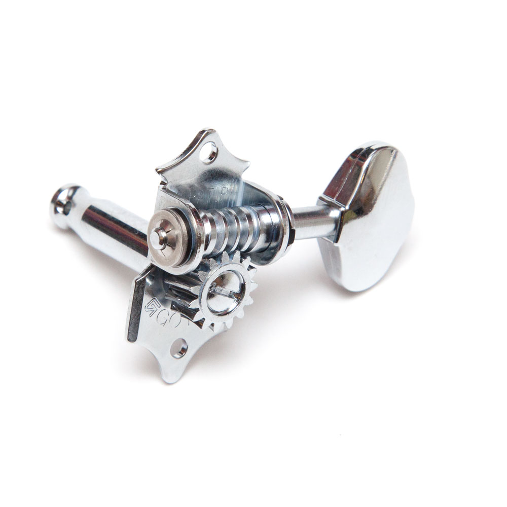 Gotoh SE780 Tuners 3 x 3 Vintage Waverly Style (Chrome, 06M)
