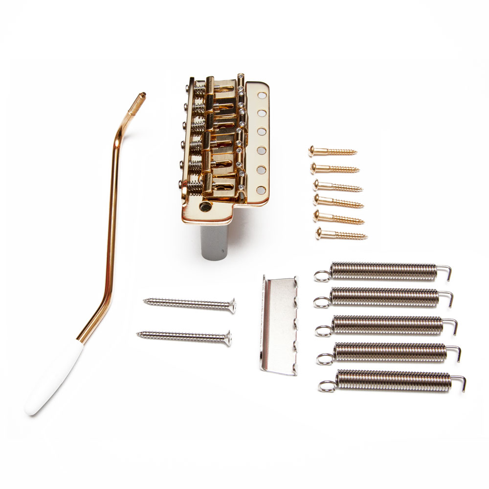 Gotoh GE101TS Vintage Tremolo System with Steel Block (Gold)