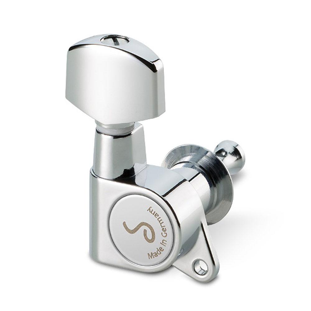 Schaller M6 Single Tuner 135 Screw (Right Handed, Chrome)