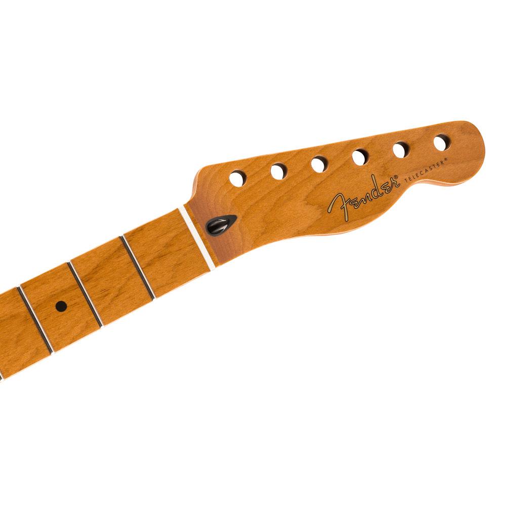 """Fender Roasted Maple Telecaster Flat Oval Neck 12"""" Radius 22 Fret"""