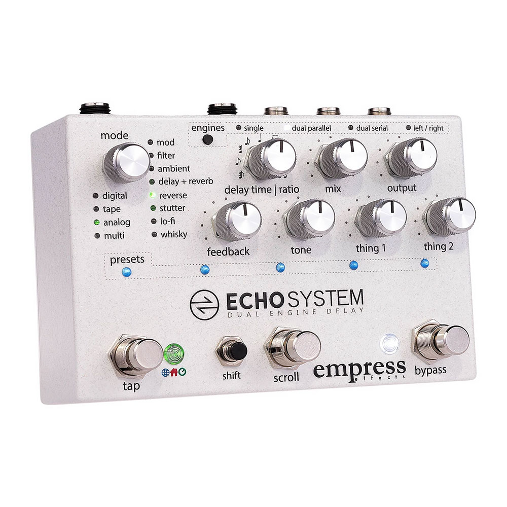 Empress Effects Echosystem Dual Engine Delay Pedal