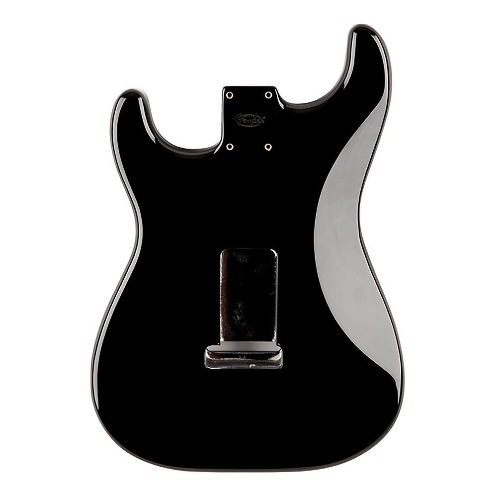 Fender Classic Series 60's Stratocaster Alder Body Vintage Bridge Mount (Black)