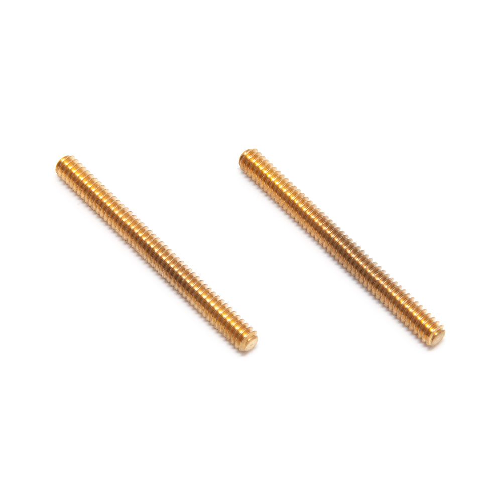 "Faber Extra Long 1.5"" Steel ABR-1 Tune-o-matic Posts (Aged/Relic Gold, Metric (mm))"