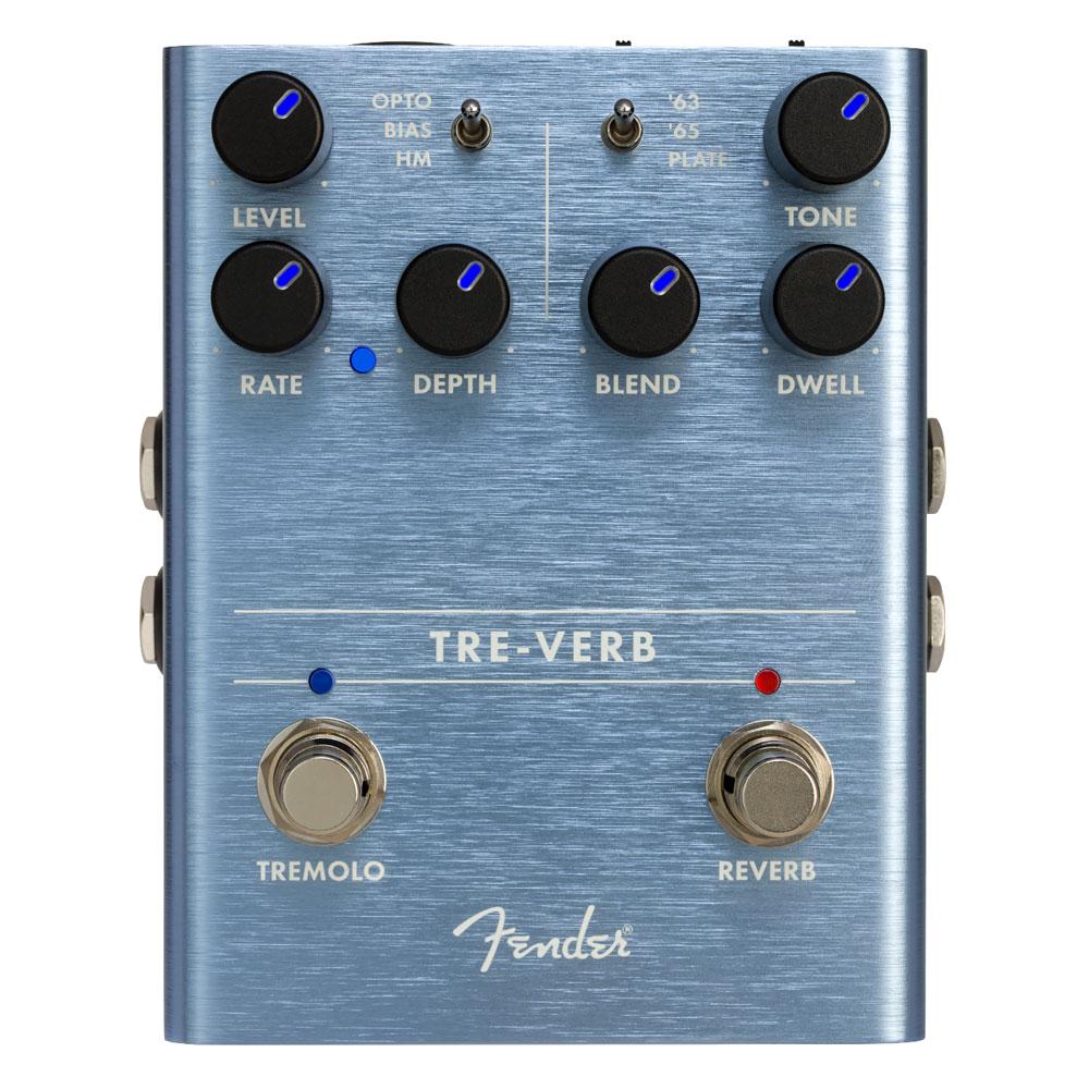 Fender Tre-Verb Digital Reverb & Tremolo Pedal
