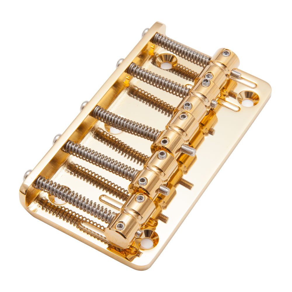 Gotoh 205B-5 5 String Bass Bridge (Gold)