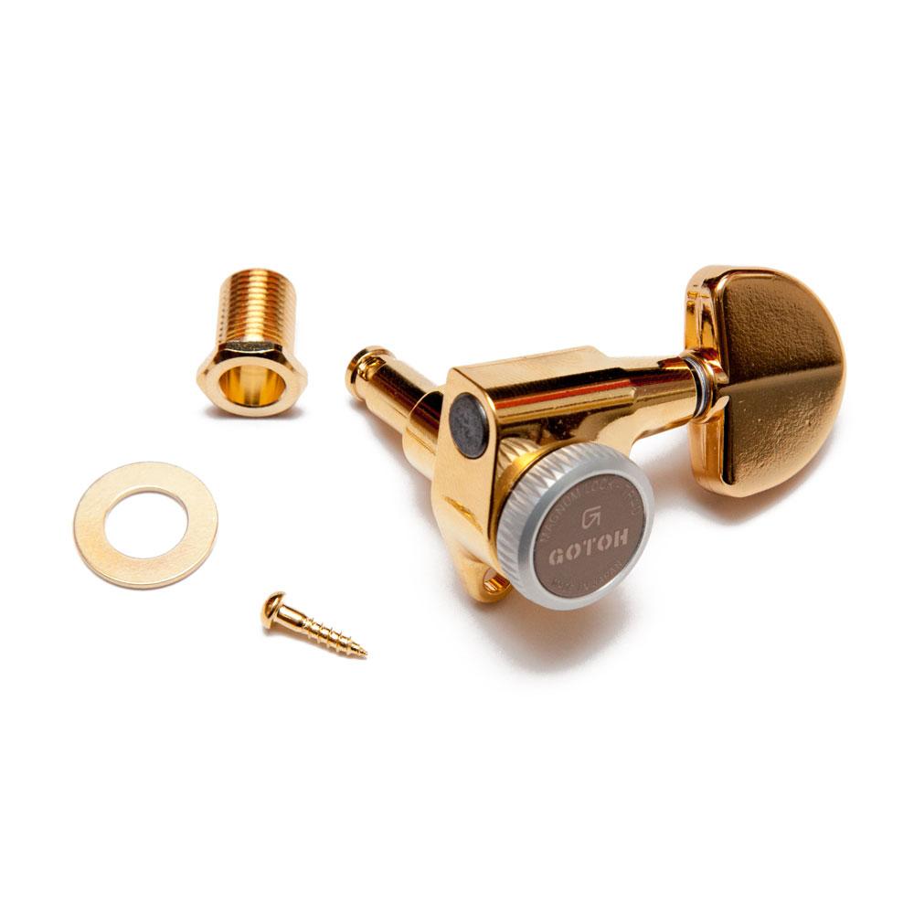 Gotoh SG301 Traditional Magnum Locking Tuners 3 x 3 (Gold, 20)