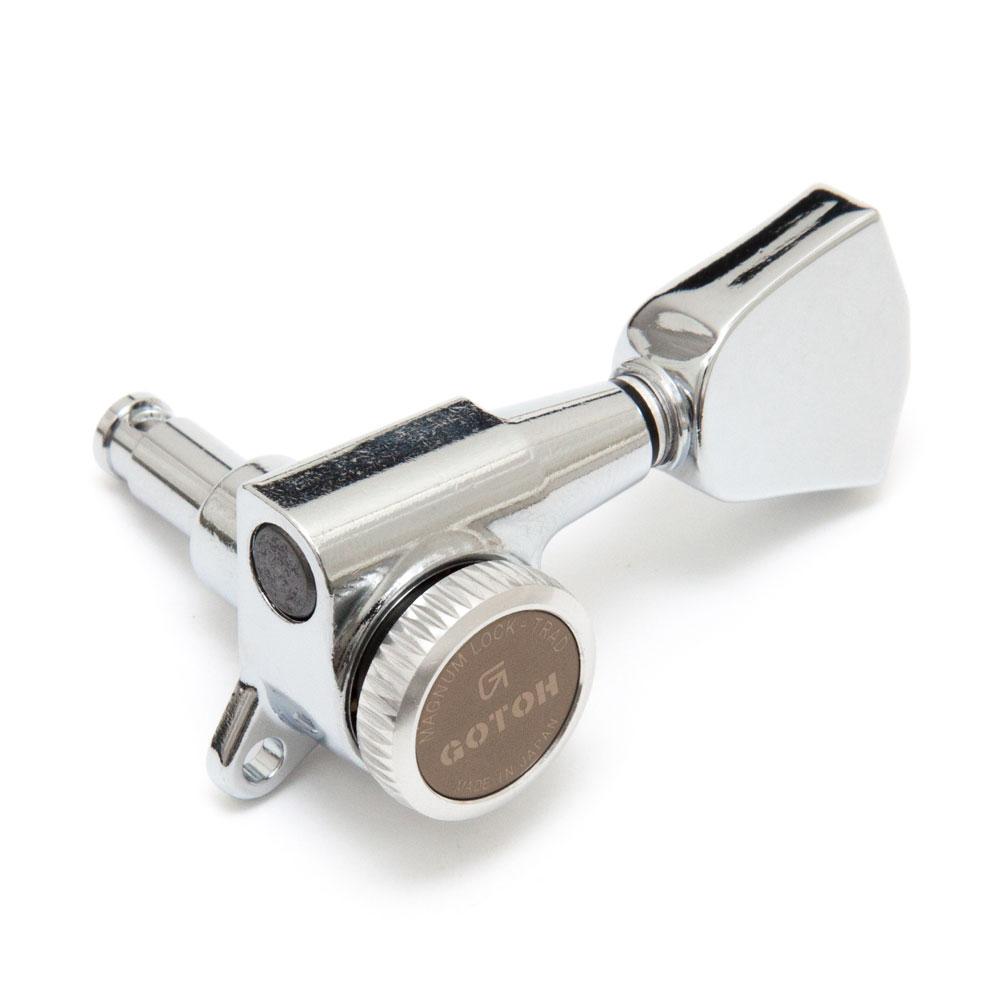 Gotoh SG381 Traditional Magnum Locking Tuners 3 x 3 (Chrome, 04)