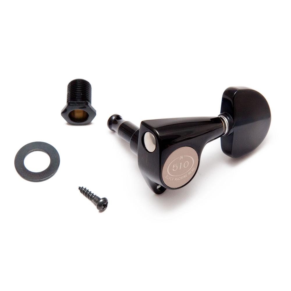 Gotoh SGV510 Tuners 3 x 3 (Black, A20)