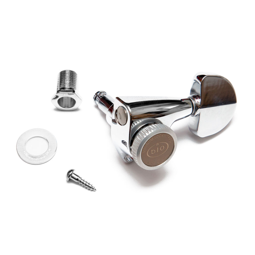 Gotoh SGV510 Traditional Magnum Locking Tuners 3 x 3 (Chrome, A20)