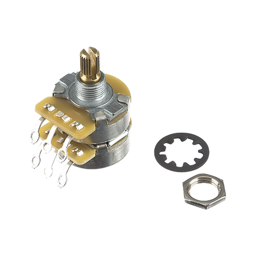 Fender CTS Dual 500K/250K Split Shaft Pot/Potentiometer