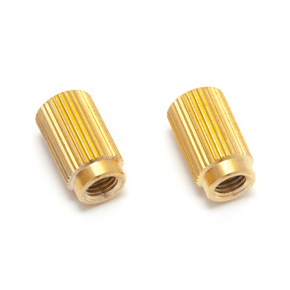 Faber TPI-IN Steel 59 Gibson Style Tailpiece Anchors/Bushings (Gold)
