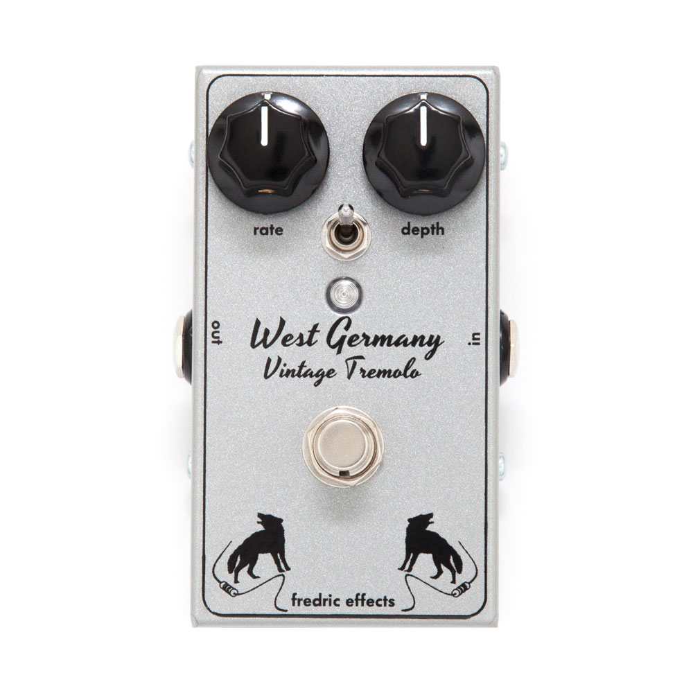 Fredric Effects West Germany Tremolo Pedal