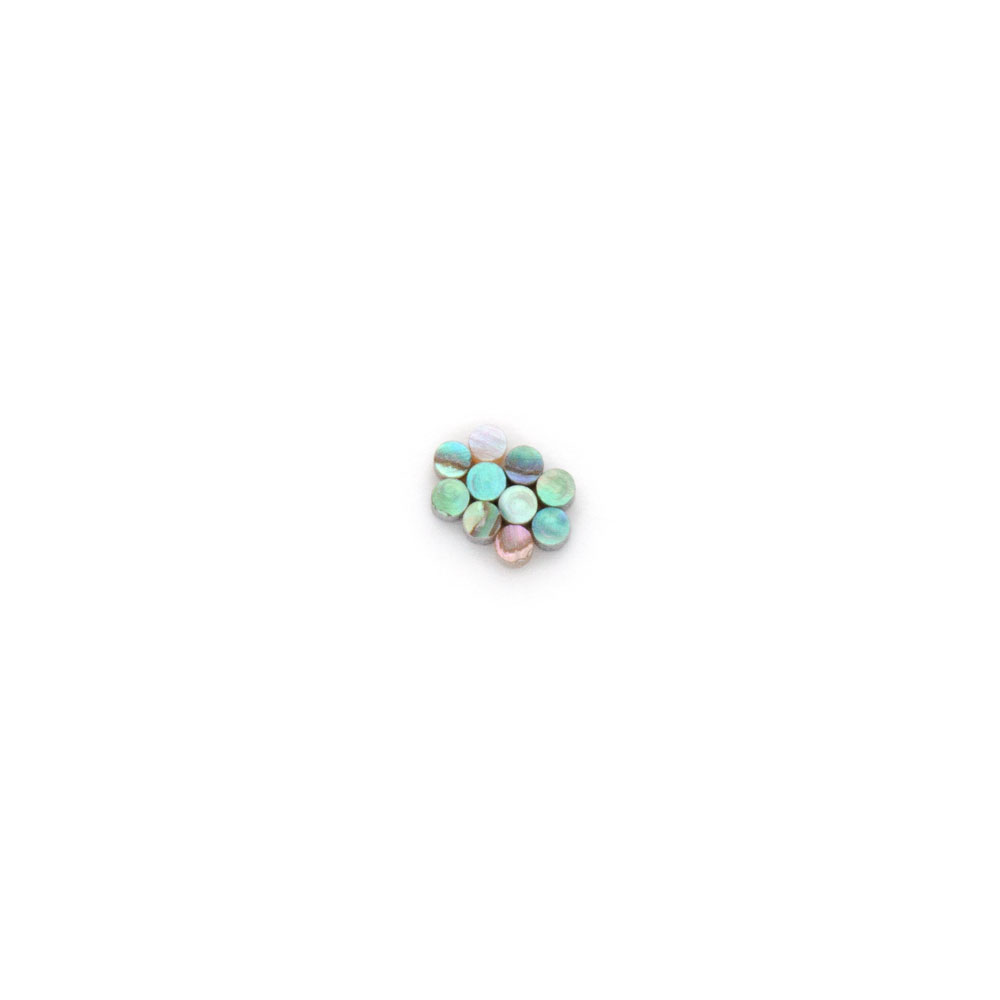 Hosco Abalone Dots Shell Guitar Inlay (2 mm)