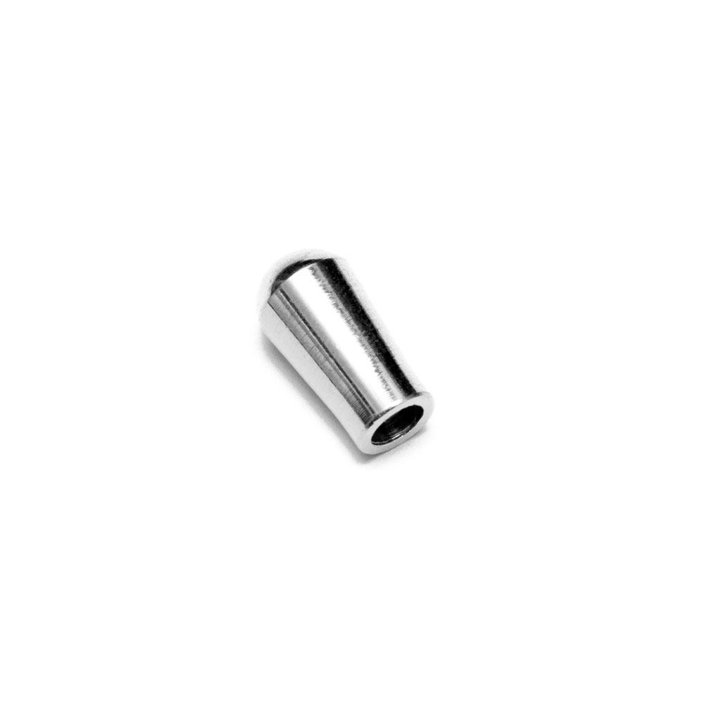 Hosco Tip/Knob for Gibson Style Toggle Switch (Chrome, Metric (mm))
