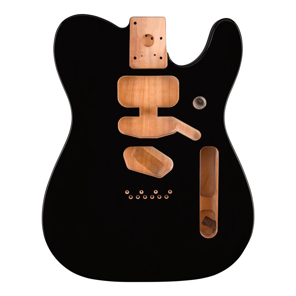 Fender Deluxe Series S/S/H Telecaster Alder Body (Black)