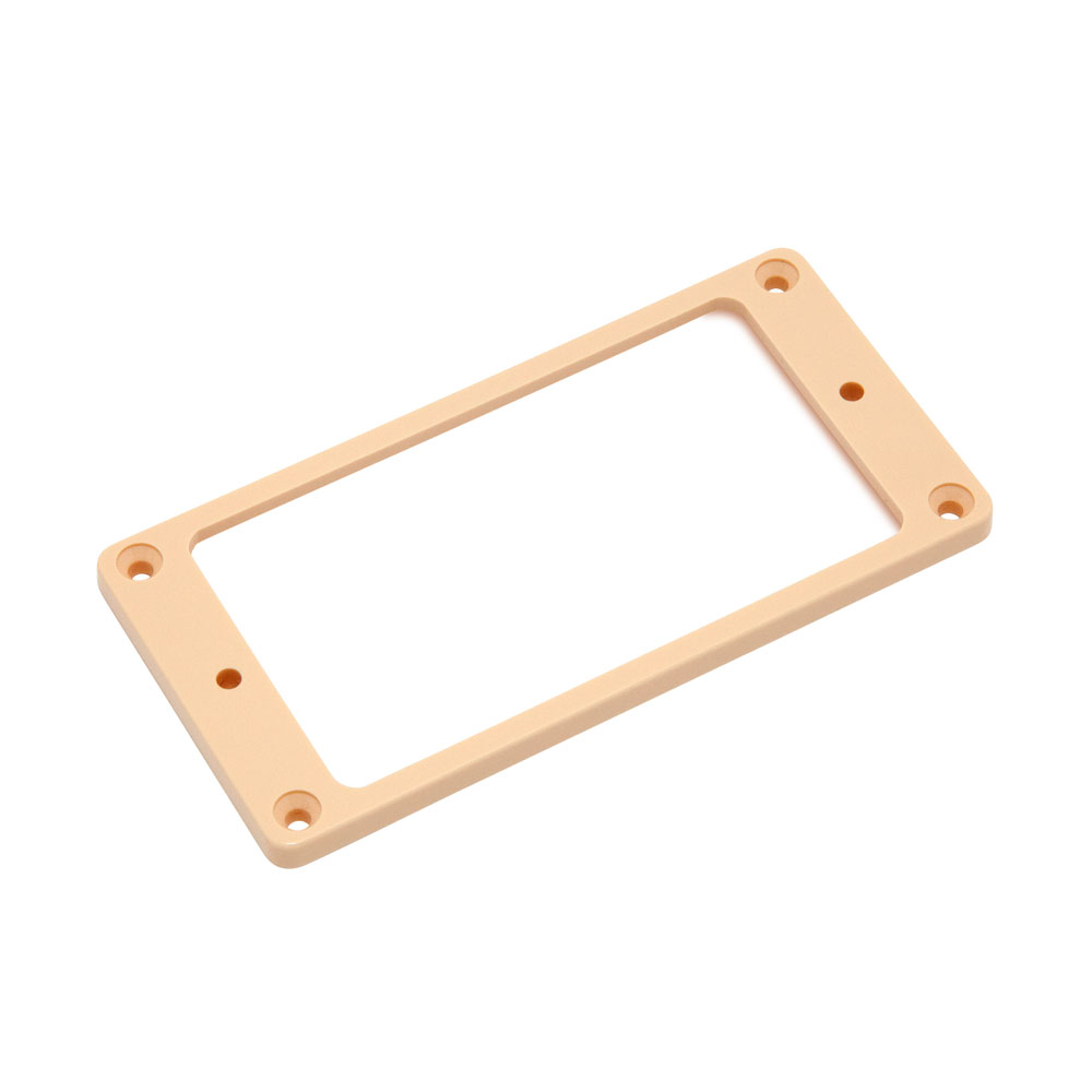 Hosco Pickup Mounting Rings Non-Slanted Flat Top and Bottom (Ivory, Neck)