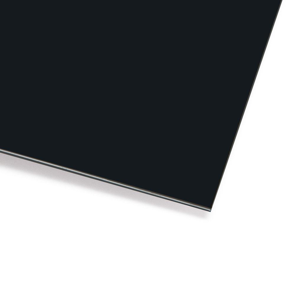Boston Blank 3 Ply Scratchplate/Pickguard Sheet Material (Black)