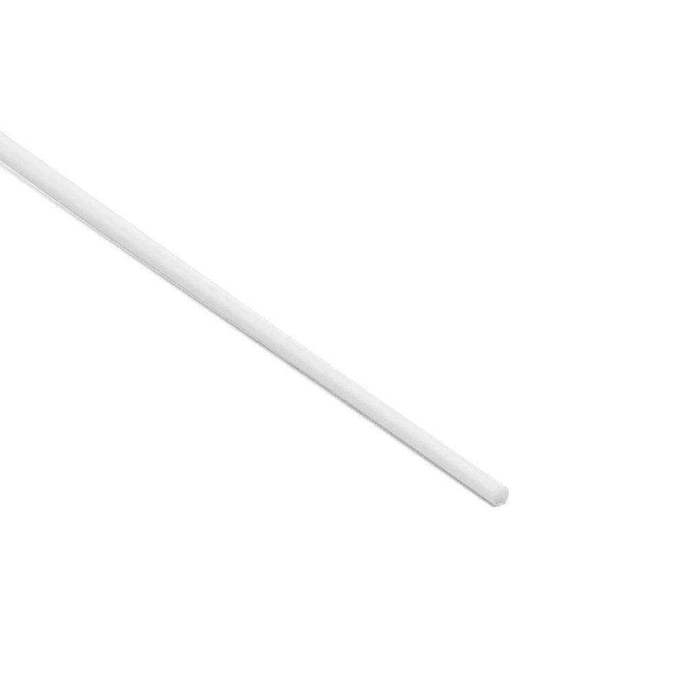 Hosco Plastic Guitar Side Dot Inlay Material (White)