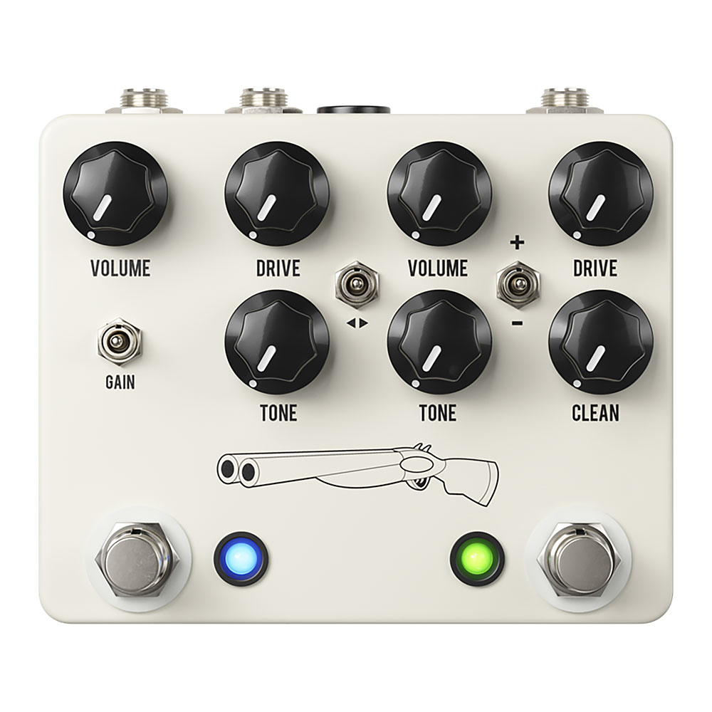 JHS Pedals Double Barrel V4 Dual Overdrive Pedal (Moonshine & Morning Glory)