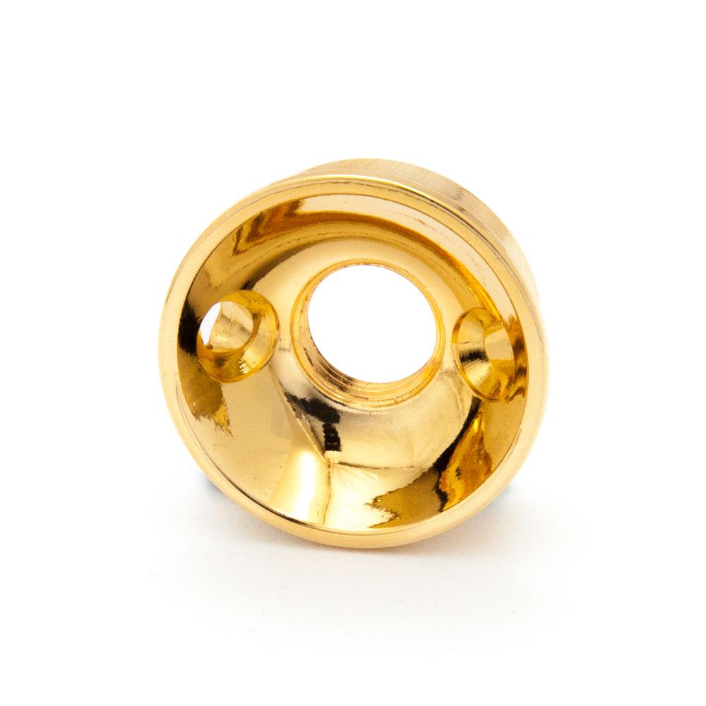 Boston Telecaster Cup Jack Plate Electrosocket Style (Gold)