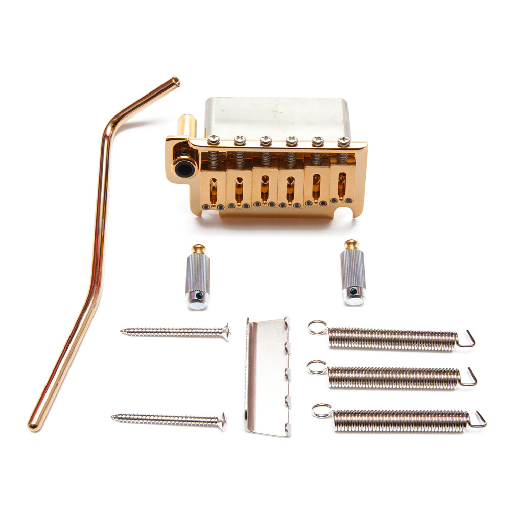 Gotoh NS510TS-FE1 Tremolo System with Steel Block (Gold)