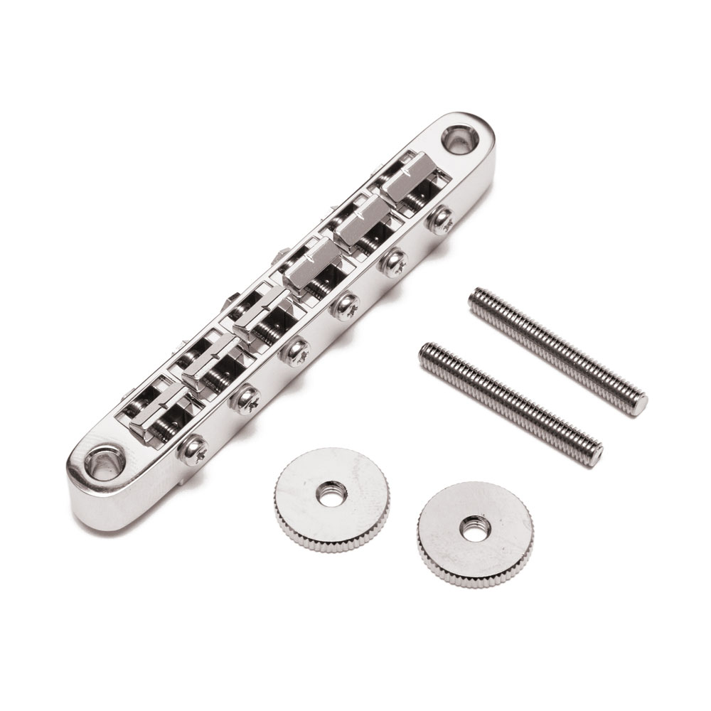 Gotoh GE104B Vintage ABR-1 Style Tune-o-matic Bridge (Nickel)