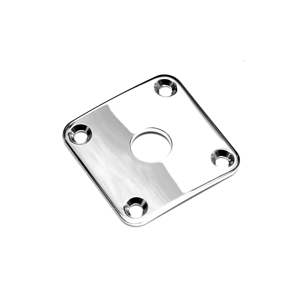 Gotoh JCB-4 Les Paul Jack Plate (Chrome)