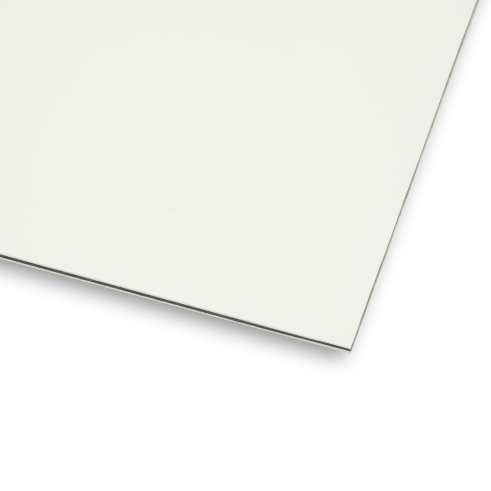 Boston Blank 3 Ply Scratchplate/Pickguard Sheet Material (Vintage White)