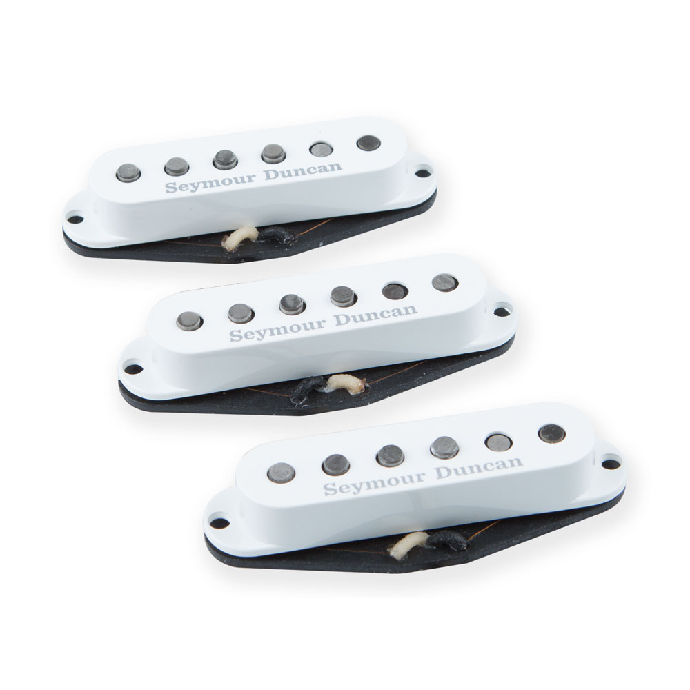 Seymour Duncan SSL-1 California 50s Strat Single Coil Pickup Set (White)