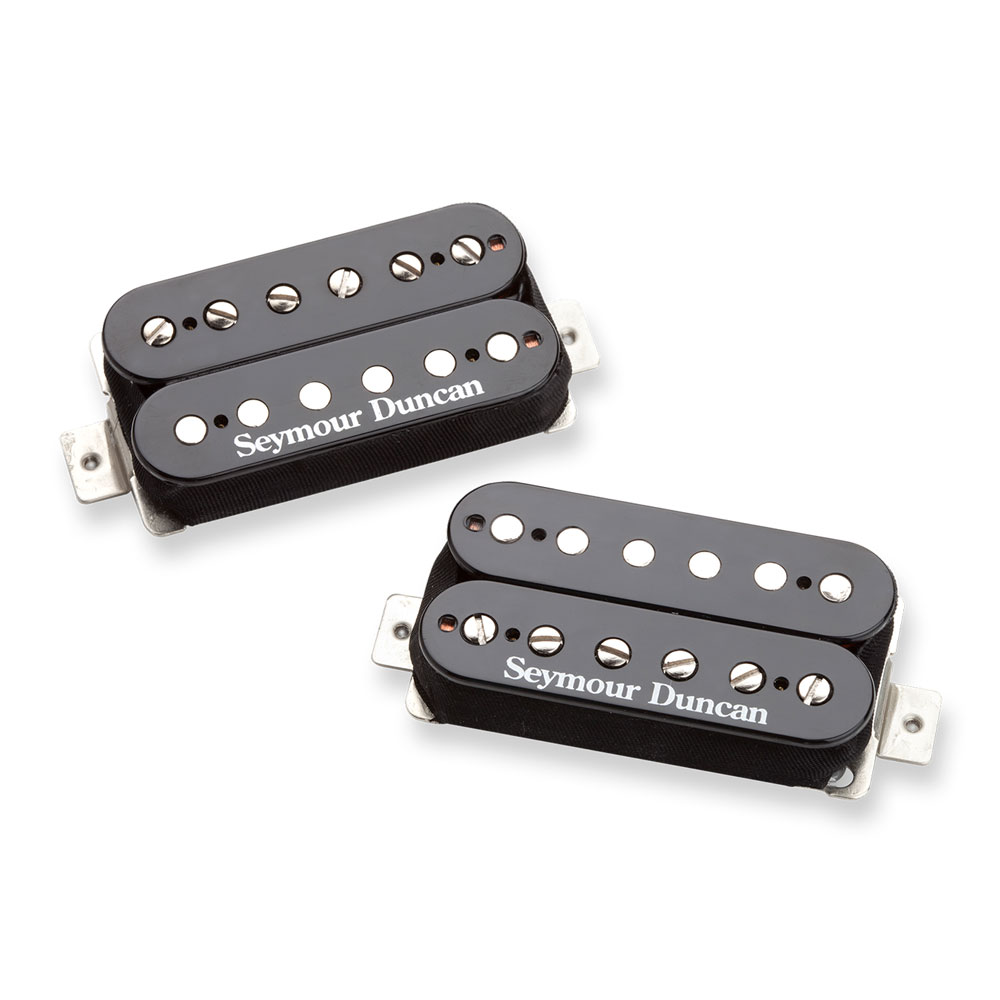 Seymour Duncan SH-4/SH-2 JB & Jazz Hot Rodded Humbucker Pickup Set (Black)