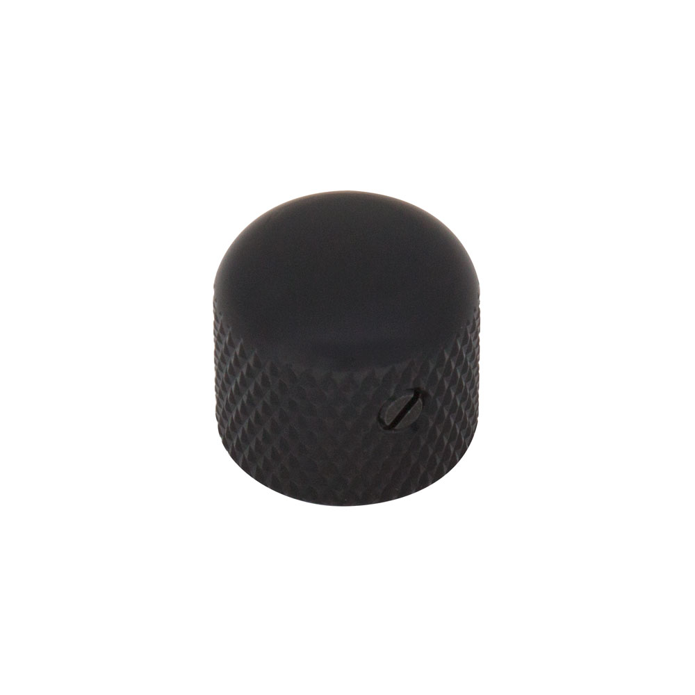 Gotoh VK3 Short Dome Knob with Set Screw (Black)