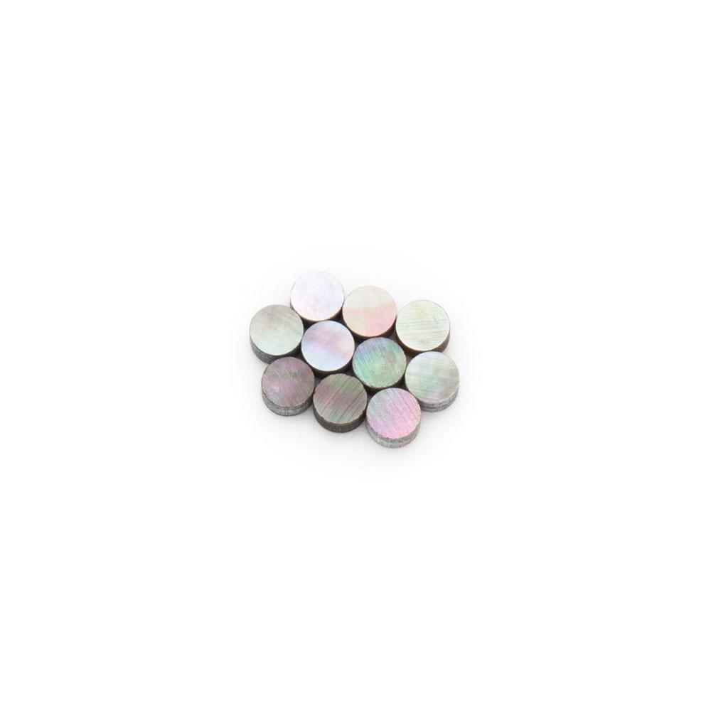 Hosco Black Pearl Dots Shell Guitar Inlay (4 mm)