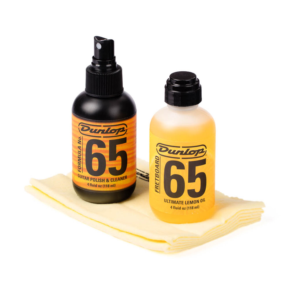 Jim Dunlop Formula 65 Body & Fingerboard Care Kit