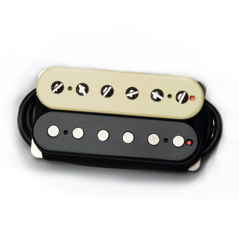 Bare Knuckle Pickups Boot Camp Brute Force Bridge Humbucker (Zebra, 50 mm)