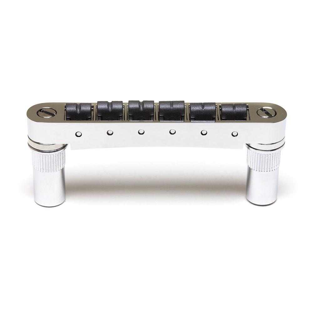 Graph Tech Resomax Autolock 6 mm Tune-o-matic Bridge (Chrome)