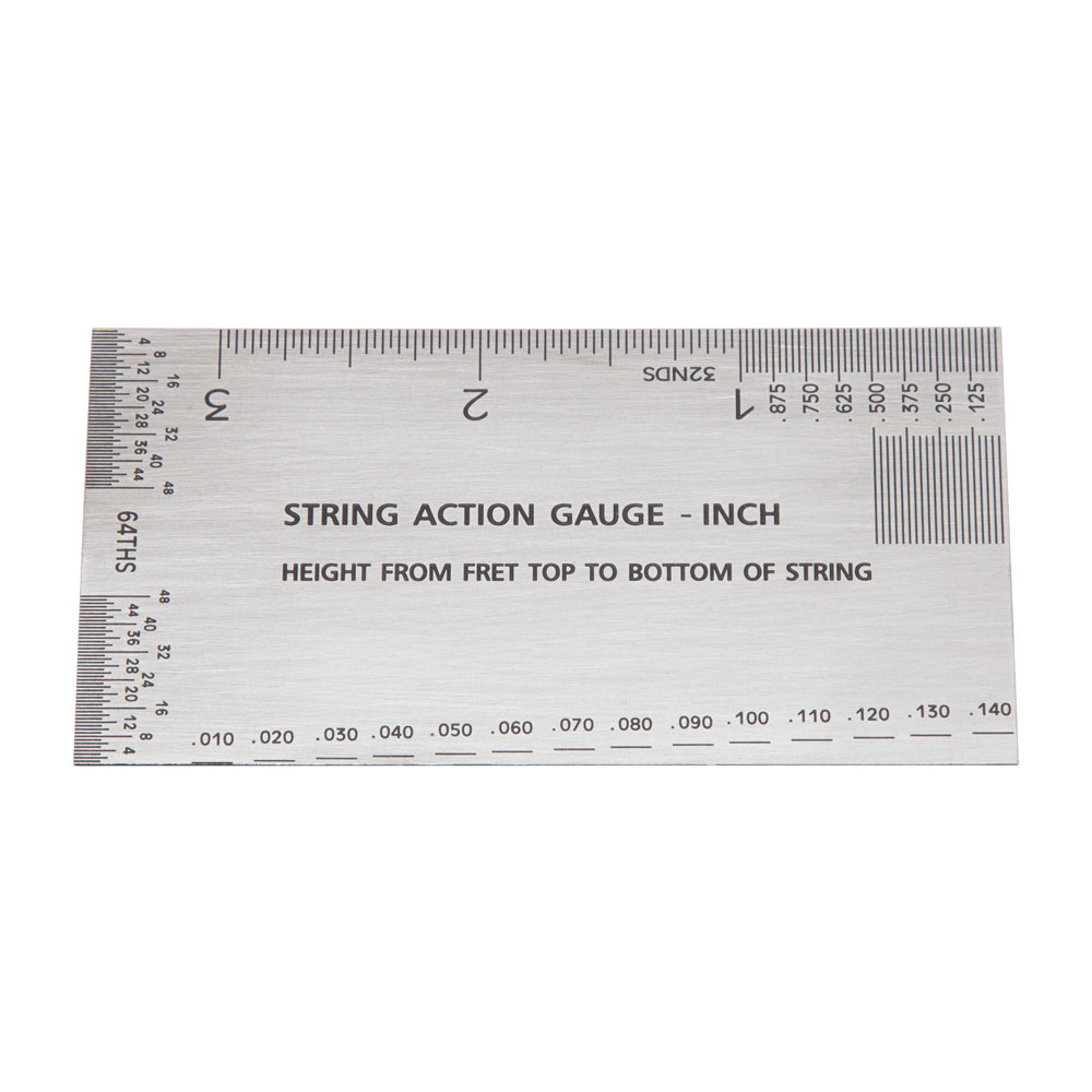 Elmer Guitar String Action and Measurement Gauge (Imperial (inch))