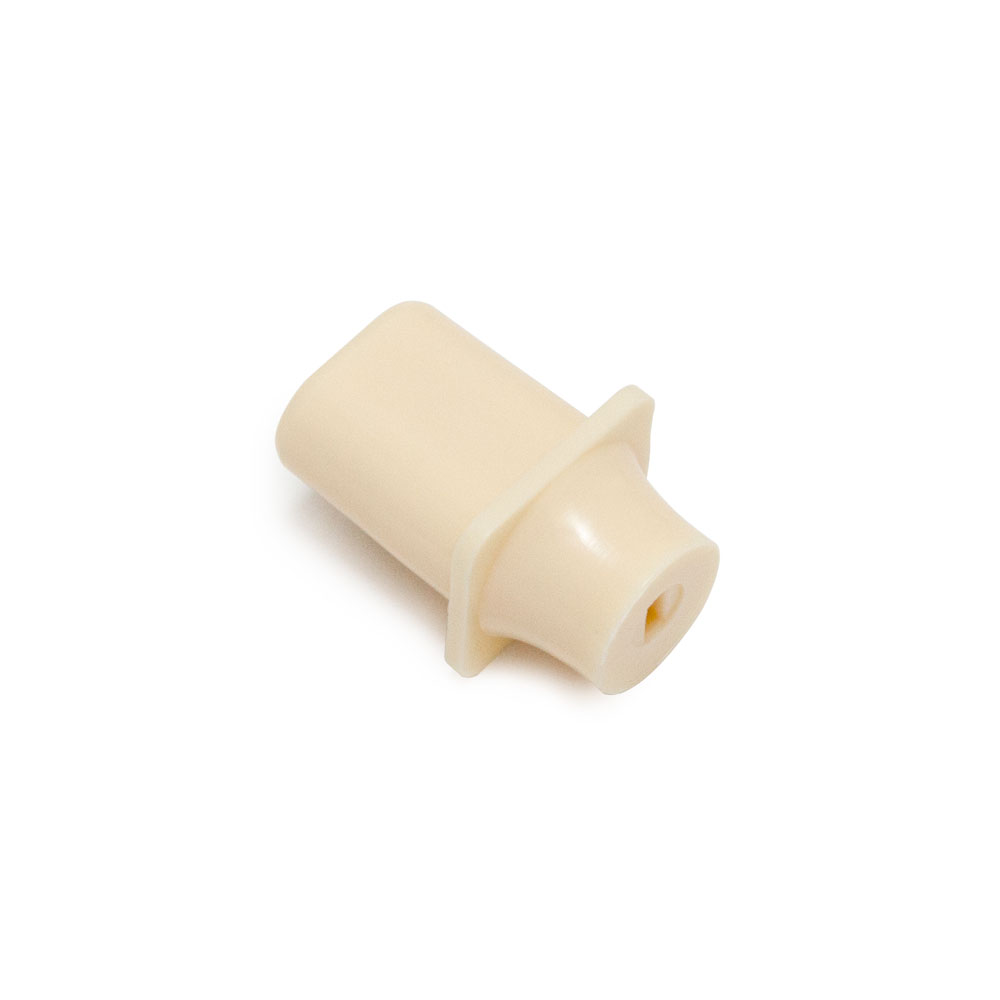 Hosco Telecaster Style Top Hat Switch Tip/Knob (Ivory, Metric (mm))