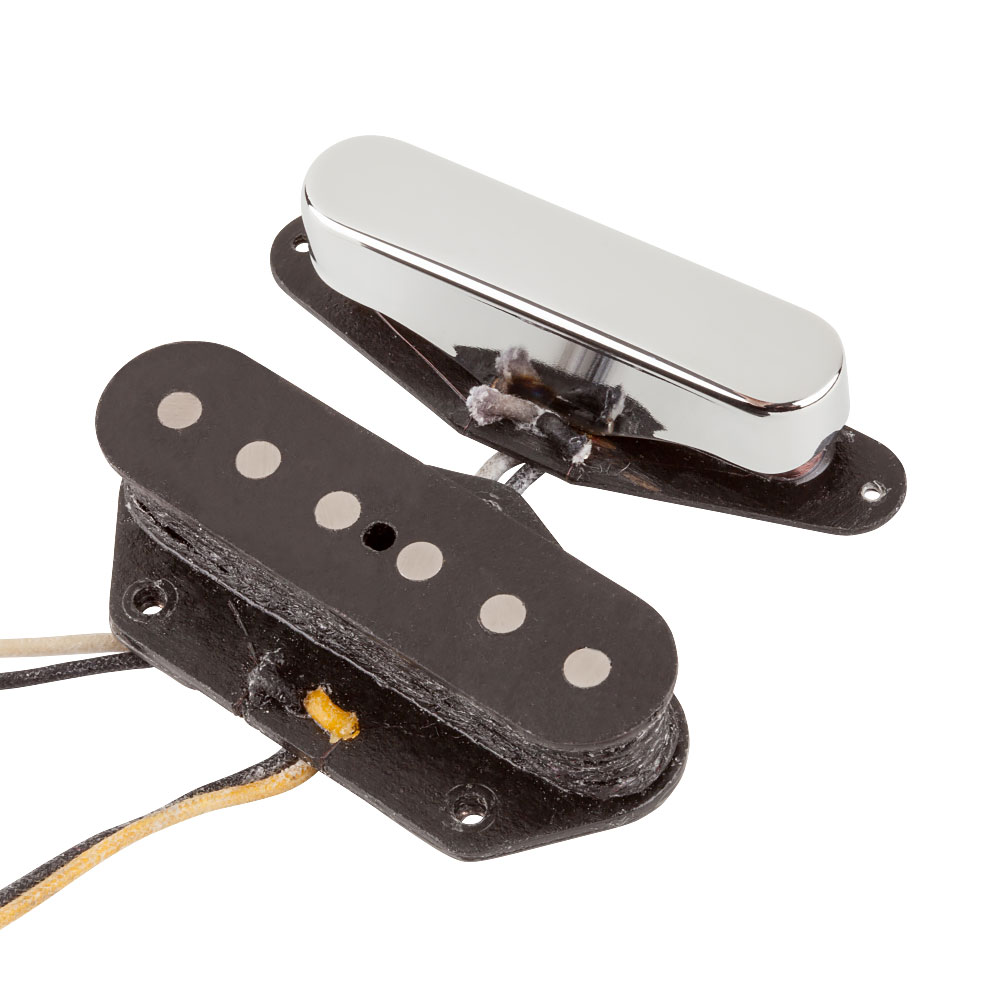 Fender Custom Shop '51 Nocaster Tele/Telecaster Single Coil Pickups Set (Nickel)